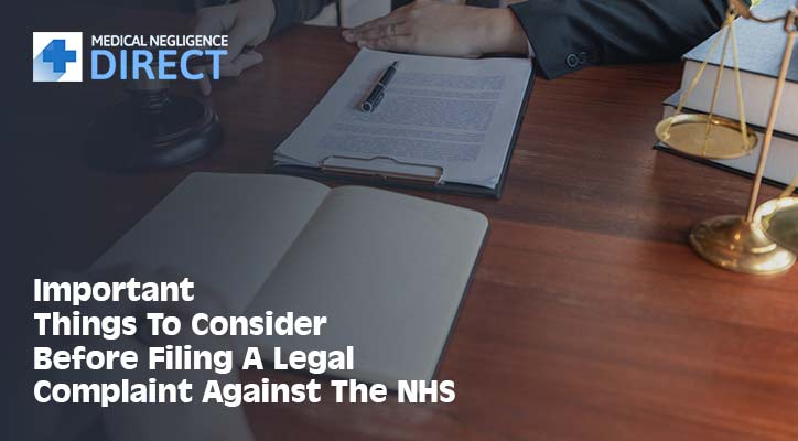 Filing A Legal Complaint Against The NHS